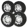 * Lot de 4 Roues Complètes en Alu pour Quads Shineray 300cc ST-4E