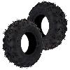 Paire de pneu Avant pour Shineray 300cc STE (22x8.00-10)