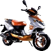Scooter 2 temps 50cc Orange