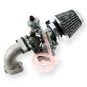 * Kit Carburation 26mm pour Dirt Bike 50cc à 125cc