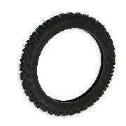 * Pneu de dirt bike (taille 2.50 x 12'') Crampons de 12mm