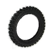 * Pneu dirt bike (taille 80-100 x 12'')  Crampons de 12mm
