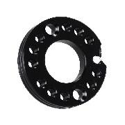 Adaptateur de pipe pour Dirt bike 125cc - 160cc (Noir, 26mm)
