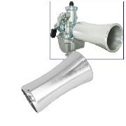 Air funnel en aluminium pour Dirt Bike ( L: 100mm )