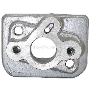 Pipe d'admission en aluminium pour Trotinette Thermique