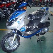 Scooters Chinois 125cc Bleu