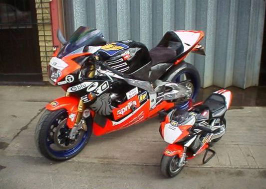 Big Mini Pocket Bikes