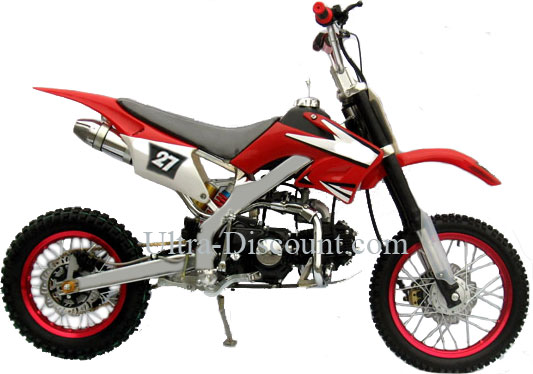 dirt bike 125 cc agb27 verte type 4 dirt bike dirt bike 125 ultra. Black Bedroom Furniture Sets. Home Design Ideas