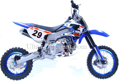 dirt bike agb29 125 cc bleu type 5 dirt bike dirt bike 125 ultra. Black Bedroom Furniture Sets. Home Design Ideas