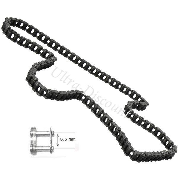 chaine pocket bike 59 maillons renforces petit pas pieces pocket quad transmission ultra. Black Bedroom Furniture Sets. Home Design Ideas