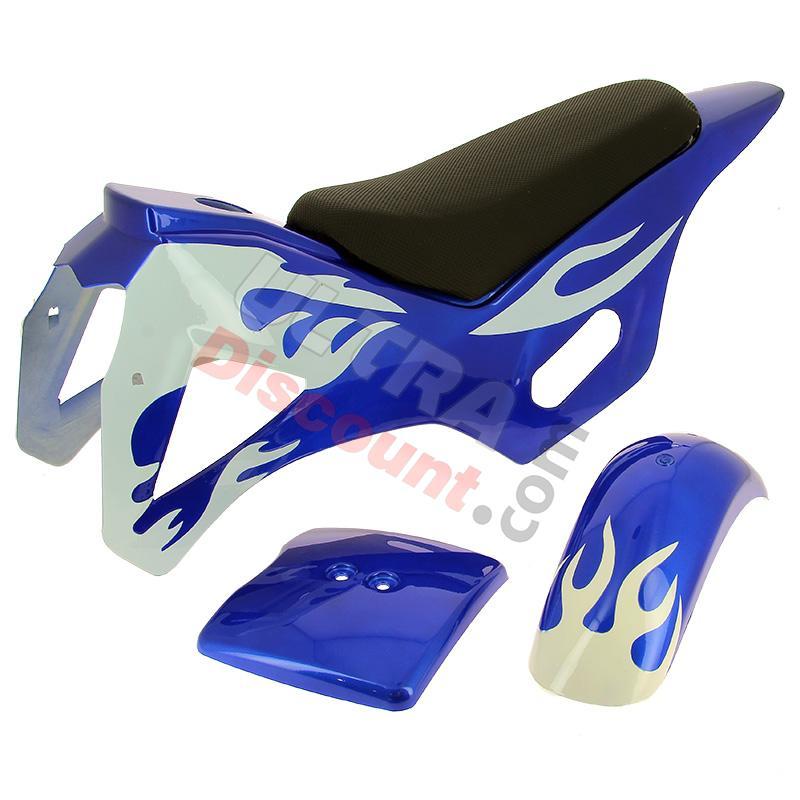 car nage bleu blanc pour pocket cross type 1 pi ces pocket cross car nage ultra. Black Bedroom Furniture Sets. Home Design Ideas