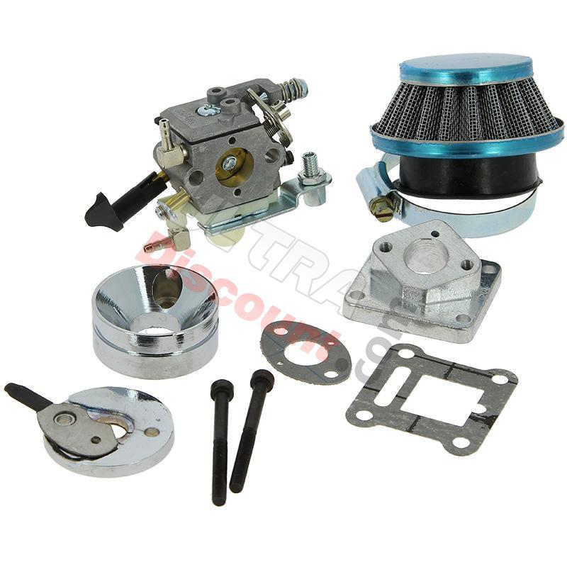 carburateur hp haute pression de 16 pour pocket quad pieces pocket quad carburation. Black Bedroom Furniture Sets. Home Design Ideas
