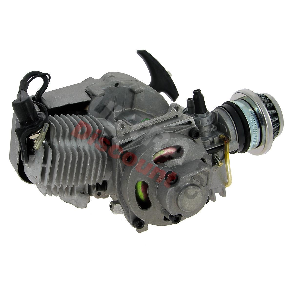 moteur d 39 origine complet 49cc pour pocket quads pieces pocket quad moteurs description ultra. Black Bedroom Furniture Sets. Home Design Ideas