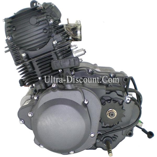 Moteur Complet Pour Quad Bashan 300cc Bs300s 18 Piece