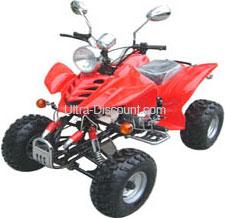 quad chinois 200 cc homologu sur route rouge quad 200 250cc 300 quad shineray ultra. Black Bedroom Furniture Sets. Home Design Ideas