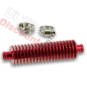 Grand radiateur additionnel Pour Quad Bashan 200cc BS200S-7 ( Rouge )
