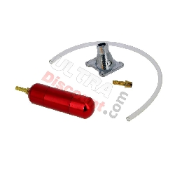 Gaz Box UD-Racing Rouge pour Pocket Quad