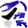 Carénage pour Dirt Bike Bleu (Type AGB27)