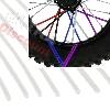 Couvre rayons pour dirt bike (12 pcs) - BLANC