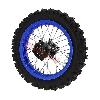 Roue Arrière 12'' Bleue pour Dirt Bike AGB29