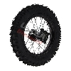 Roue Arrière 12'' Noire pour Dirt Bike AGB29