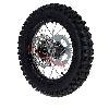 * Roue Arrière Complète 14'' Noire pour Dirt Bike AGB30