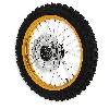 * Roue Avant Complète 14'' Or pour dirt bike AGB29