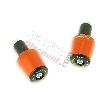 Embout de guidon Tuning orange (type7) pour Pocket Bike