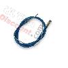 Câble de frein avant pocket bike 40cm, Bleu