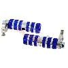 Cale pieds en aluminium Bleu TAF01