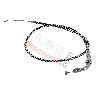 Câble d'Accélérateur Noir-Alu pour Pocket Polini 911 - GP3 (64cm-74cm - Type A)