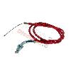 Cable d'Accélérateur Rouge pour Pocket Polini 911 - GP3 (Type A)