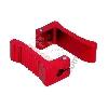 Cale-Pieds Rouge en Aluminium pour Pocket MTA4