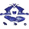 Carénage CARBONE Spéciale Edition pour Pocket MT4 (Bleu)