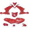 Carénage CARBONE Spéciale Edition pour Pocket MT4 (Rouge)