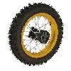 Roue Arrière 12'' Or pour Dirt Bike AGB29