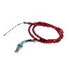 Cable d'Accélérateur Rouge pour Pocket Quads (Type A)