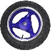 Roue Arrière Scooter Chinois 50 ~ 125cc ( bleu - type 1 )