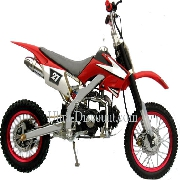 Dirt Bike 125 cc AGB27 Rouge (type 4)