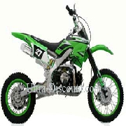 Dirt Bike 125 cc AGB27 Verte (type 4)