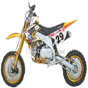 Dirt Bike AGB29 125 cc Jaune (type 5)