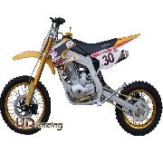 Dirt Bike 200cc type 6 Jaune (AGB30)