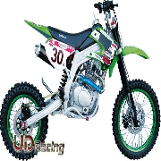 Dirt Bike 200cc type 6 Verte (AGB30)