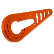 Protege chaine pour Poket Bike - (Orange)
