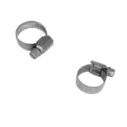 Lot de 2 colliers 20mm pour durite de Quad Bashan 200cc (BS200S-7)